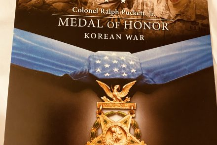 SSF Attends Medal of Honor Celebration for Ret. Colonel Ralph Puckett, Jr.